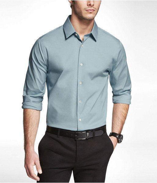 Cách chọn may áo sơ mi đồng phục nam đẹp