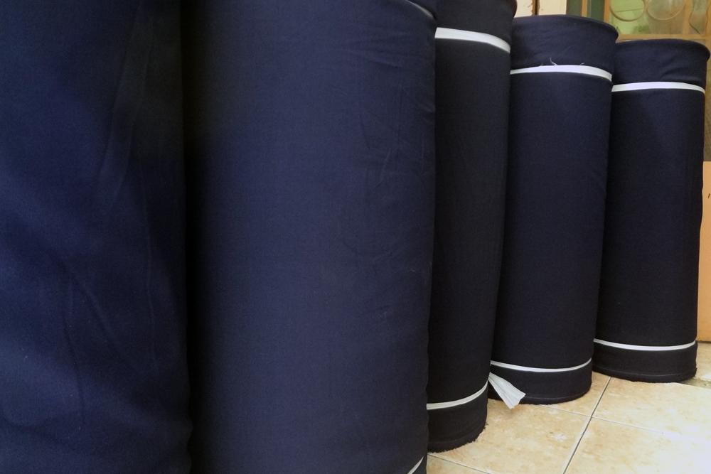 chất liệu vải may đồng phục kaki